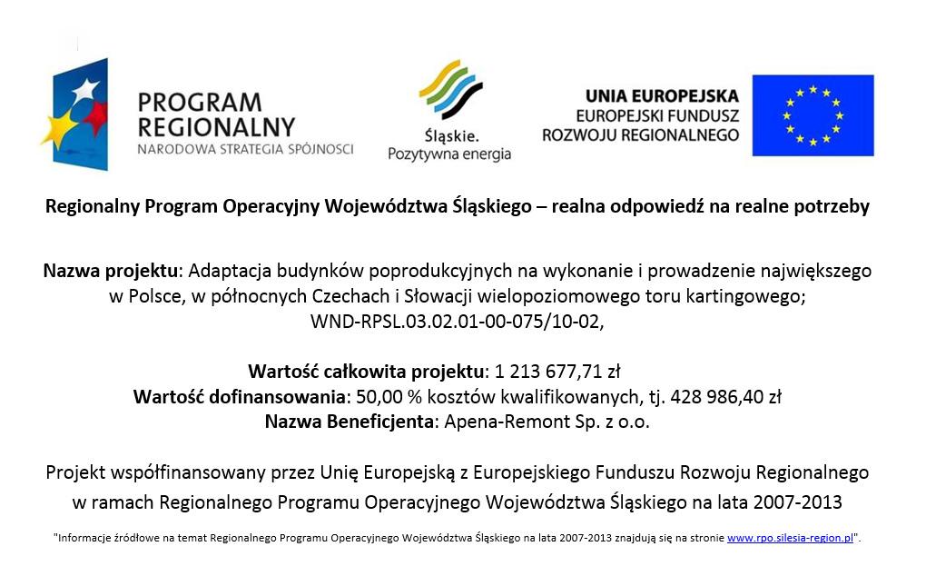 Regionalny Program Operacyjny Województwa Śląskiego lata 2007-2013
